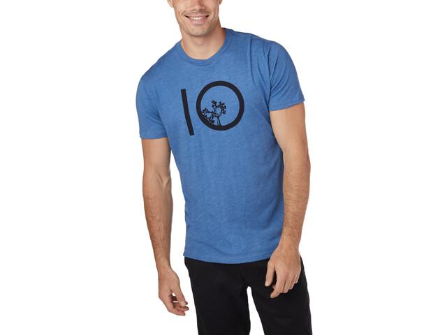 tentree Ten T-shirt Homme, blue jay/blue heather